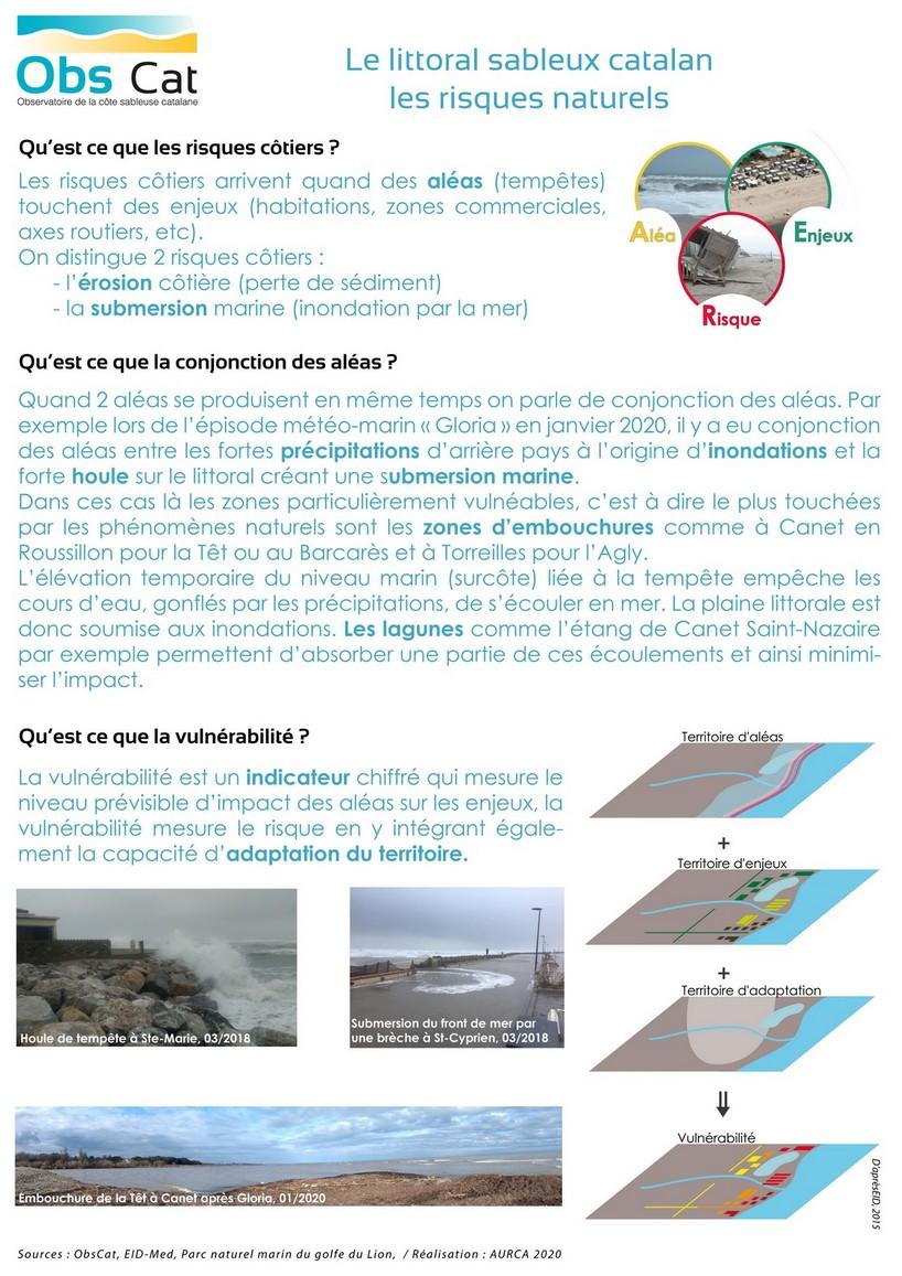 WEB_littoral sableux catalan_les risques naturels_2020